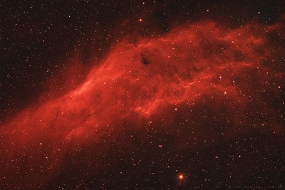 California Nebula with Astronomik ProPlanet 642BP