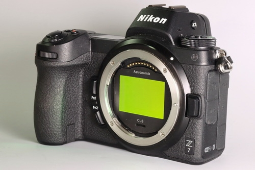 Nikon Z7 with Astronomik Clip-Filter