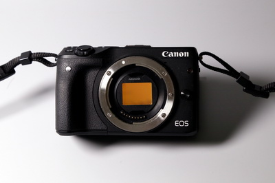 Clip-Filter for Canon EOS M