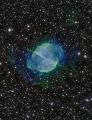 Hantelnebel / Dumbbell nebula by Caspar Schumann